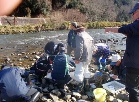 三篠川薬師橋上流