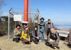 安芸の小富士山頂にて